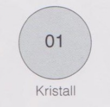 Farbe Kristall