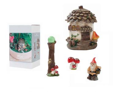 Mini Gardening Fairy-Set, 4-teilig