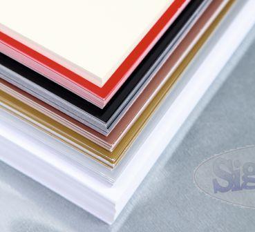 Bastelfritze.de - Malkarten für Encaustic, weiss, DIN A6