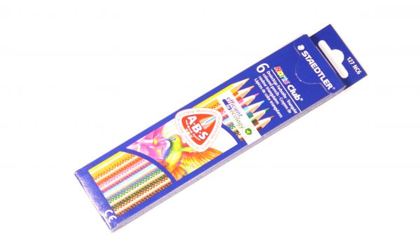 Painting crayons for wood, 6 pcs.