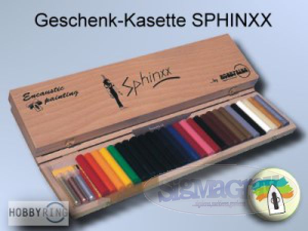 Encaustic Wax- Set 'SPHINXX'